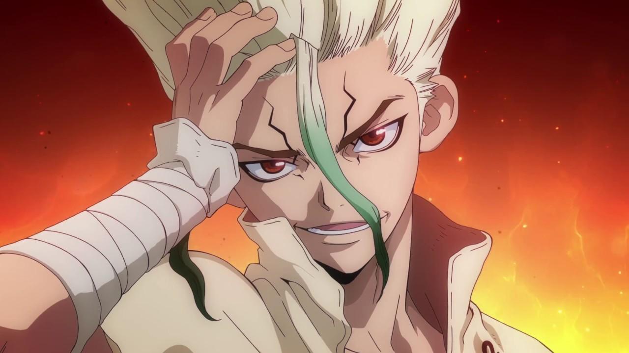 「ドクターストーン アニメ」の画像検索結果