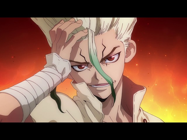 Qoo News Dr Stone Anime Adaptation Teaser Trailer Released