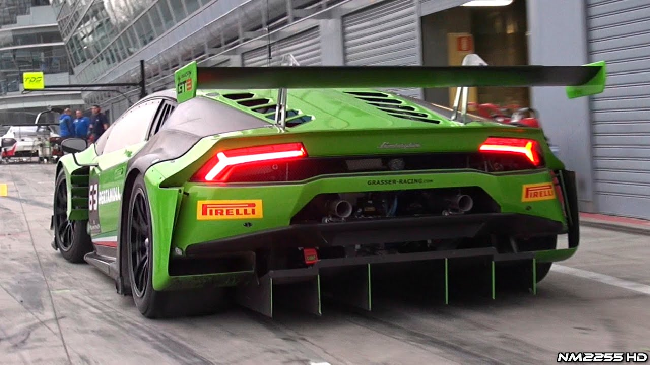 2015 Lamborghini Hurac 225 N Gt3 Start Up Acceleration And