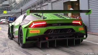 Lamborghini Huracan GT3 2015 Videos