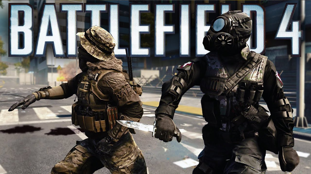 Battlefield 4 Funny Moments! - C4 Jump, Triple Trolls &amp- Elevator ...
