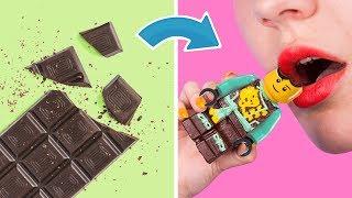 ¡Hacemos Juguetes Con Dulces! 8 DIY De Juguetes Comestibles