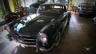 1955 Mercedes 190SL | Chasing Classic Cars