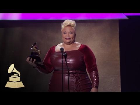 Tamela Mann Wins Best Gospel Performance / Song   Acceptance Speech   59th GRAMMYs