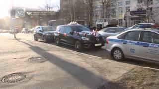 Стреляющую свадьбу задержали на ул.Верхние поля в Москве