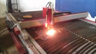 maquina CNC de Oxicorte e Plasma