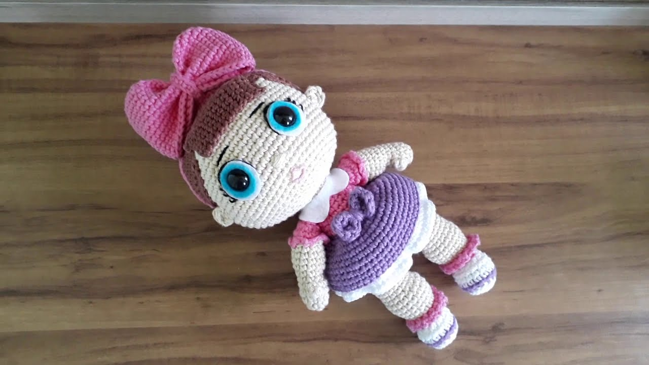 Modelos de Amigurumi Boneca Lol - Salvabrani | Bonecas de crochê ... | 720x1280