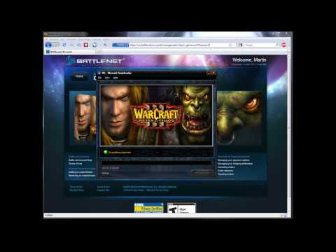 Download Warcraft from Blizzard