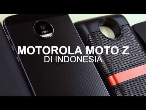 Moto Z & Moto Mods Hands-on (Indonesia)