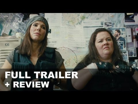 The Heat Official Trailer 2013 + Trailer Review : HD PLUS