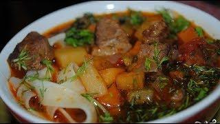 Лагман - Узбекская кухня