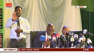 2019 Presidential Election: INEC Announces Osun Results  The Verdict 