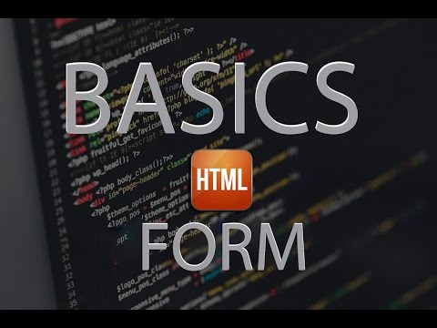 Learn HTML & HTML 5 in Form Tutorial 2016