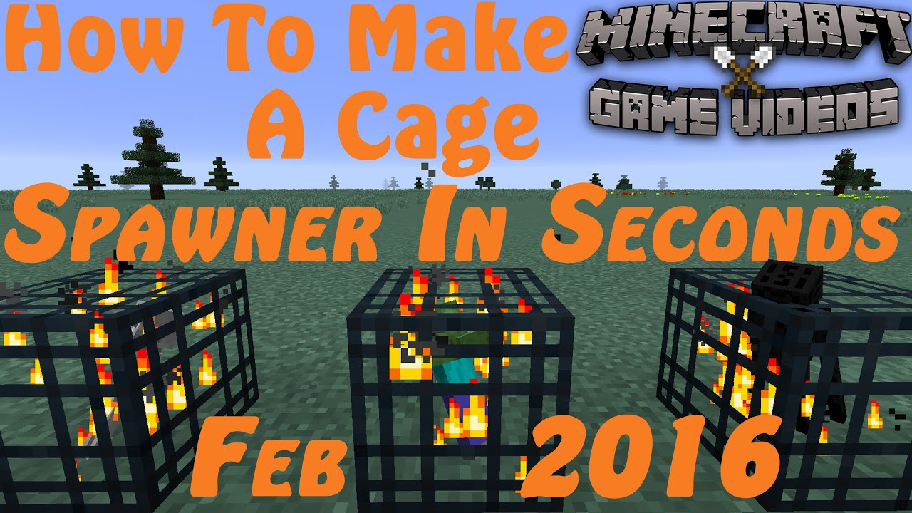 How to make a cage in Maynkraft