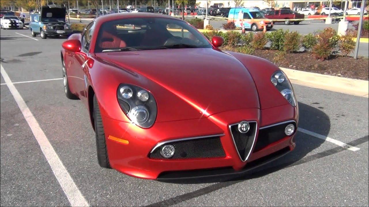 RARE Alfa Romeo 8c Competizione !!! - YouTube