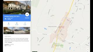 Driving Directions in Google Maps Free HD Video