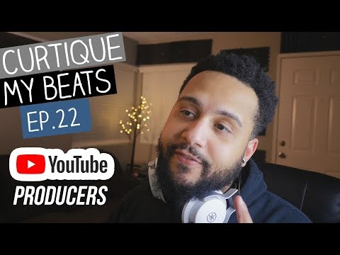 WELL DAMN! Reacting To YouTube Producer Beats | CURTIQUE MY BEATS  (EP 21)