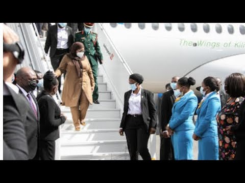 President Samia Suluhu's departure from Tanzania to Kenya for bilateral ties