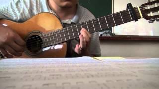 Kiss the rain - Yiruma. classical guitar solo