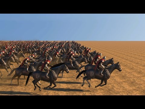 500 HERO CAVALRY CHARGE vs 500 UNITS - Mount & Blade 2: BANNERLORD |