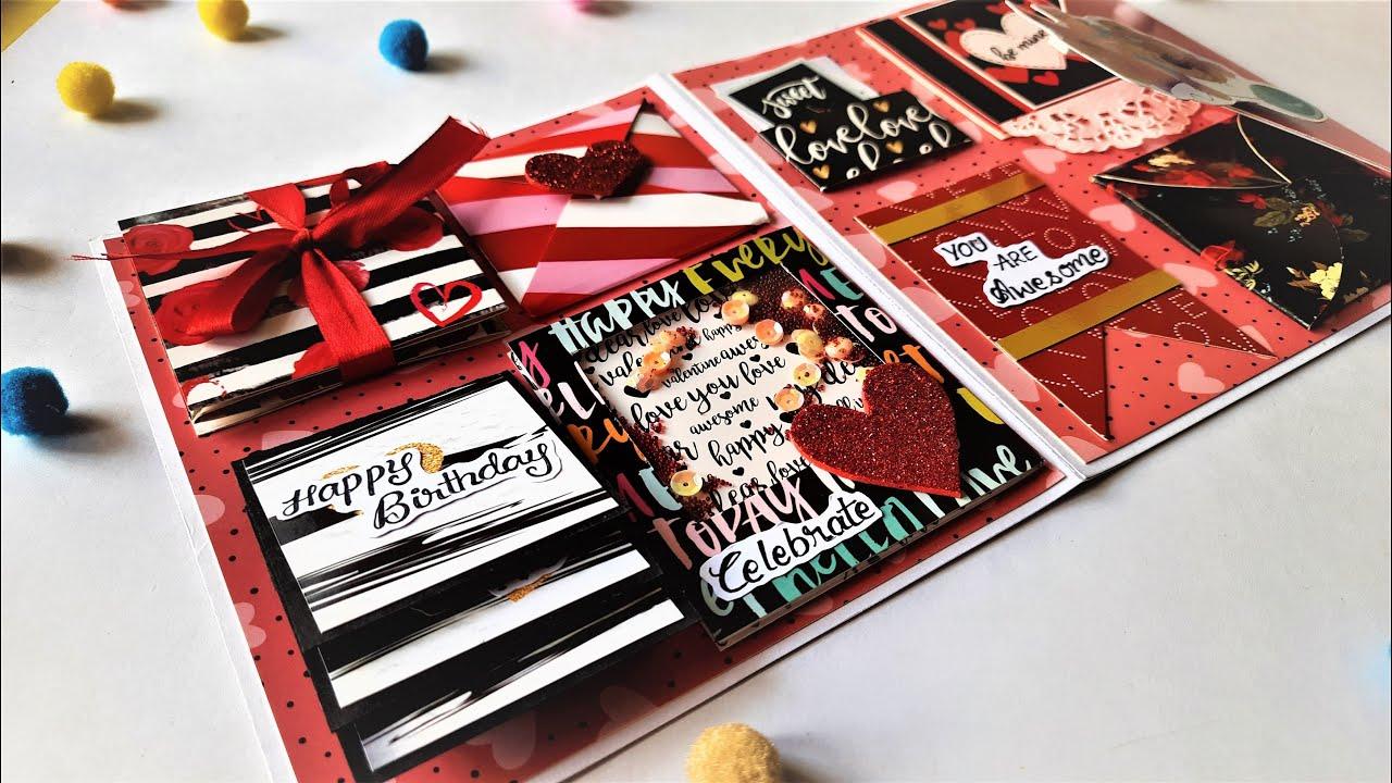 How to Make Beautiful Birthday Greeting Card | Handmade Birthday Card Idea | Tutorial