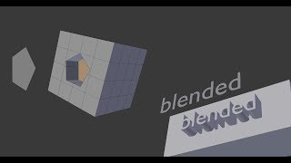 Blender Knife Project Tool - Cut Hole In Object
