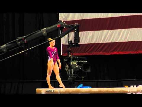 Bridget Sloan -- Balance Beam -- 2012 Visa Championships -- Sr. Women -- Day 1