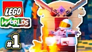Lego Worlds ПРОХОЖДЕНИЕ - КОРОЛЕВСКИЙ ЛЕГО ВЕРНУЛСЯ!