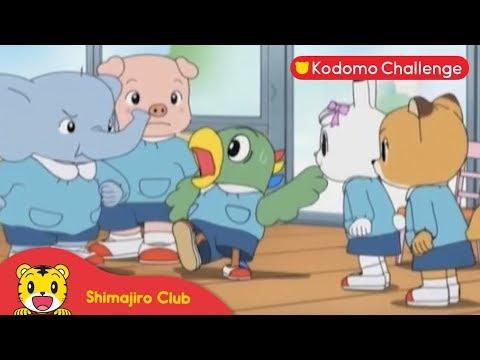 Shimajiro: Pendidikan Anak Eps. 41.3 - Pesta Olahraga Yang Meriah