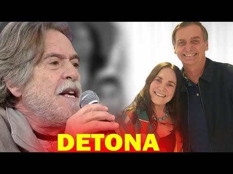 José de Abreu ATACA Regina Duarte, Após a Atriz DECLARAR Apoio à Bolsonaro e o que diz CHOCA a todos