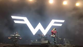 Weezer - Africa (Toto Cover) Festival Catrina Video