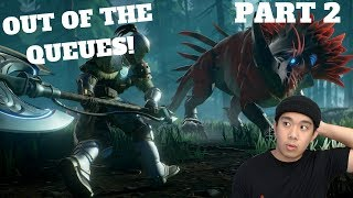 OUT OF THE QUEUES - DAUNTLESS PART 2 (PC) Live Stream and More