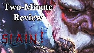Slain: Back From Hell Review - Two-Minute Review