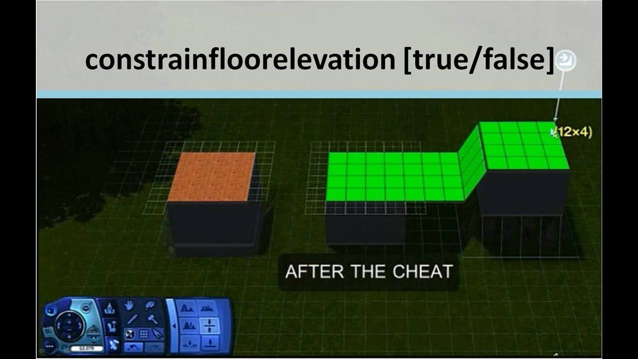 Constrain Floor Elevation True : Floor elevation cheat sims thefloors