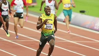 Usain Bolt as 17 Years Old in 2004 Olympics
