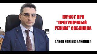 """Юрист про """"прогулочный режим"""" в Москве. Закон или беззаконие"""