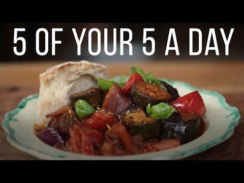 Classic Ratatouille | 5 A Day Dish