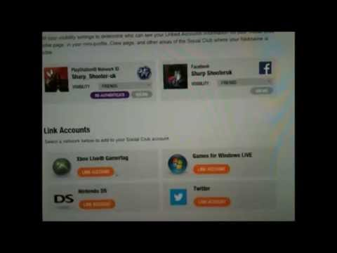 how to unlink rockstar  accounts  from  ps3&4  or  xbox360&1