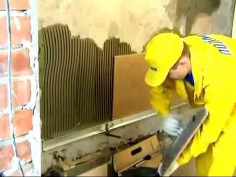 Укладка плитки на пол и стены декор