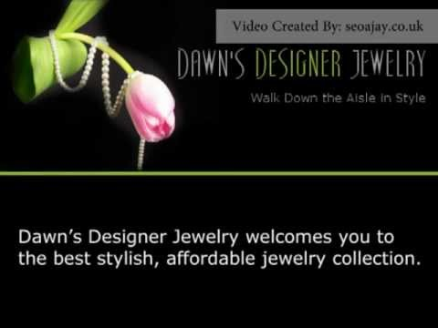Costume wedding jewelry for bridesmaid by Dawn's Designer Jewelry(dawnsdesignerjewelry.com)