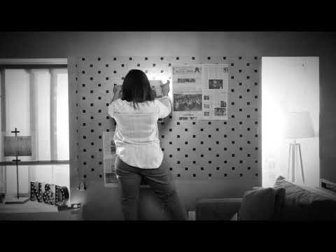 One way to create a Gallery Wall using The Gallery Grid™