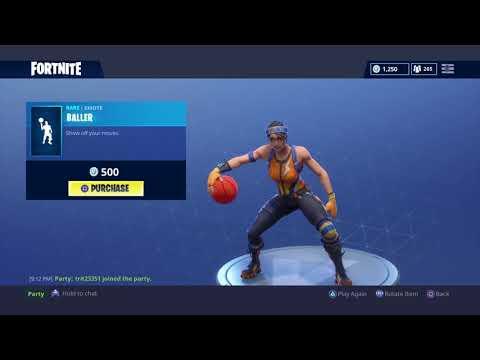 BALLER (1 HOUR) FORTNITE DANCE/EMOTE