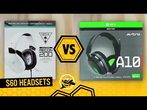 Turtle Beach RECON 200 vs. Astro A10 Gaming Headset: Best Under $60?