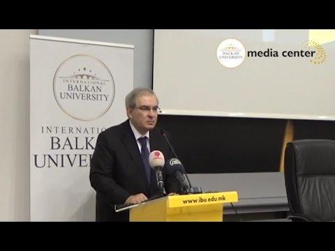 """Honorary Lecture """"My Life as a Diplomat"""" by H.E. Ömür Şölendil"""
