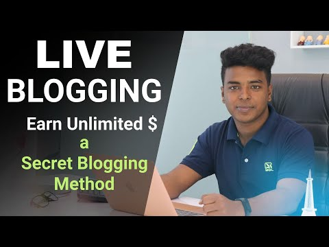 Live Blogging Explained | A New Blogging Method By RipoN