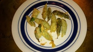 Veganism:  Deep Fried Sweet Peas Tempura