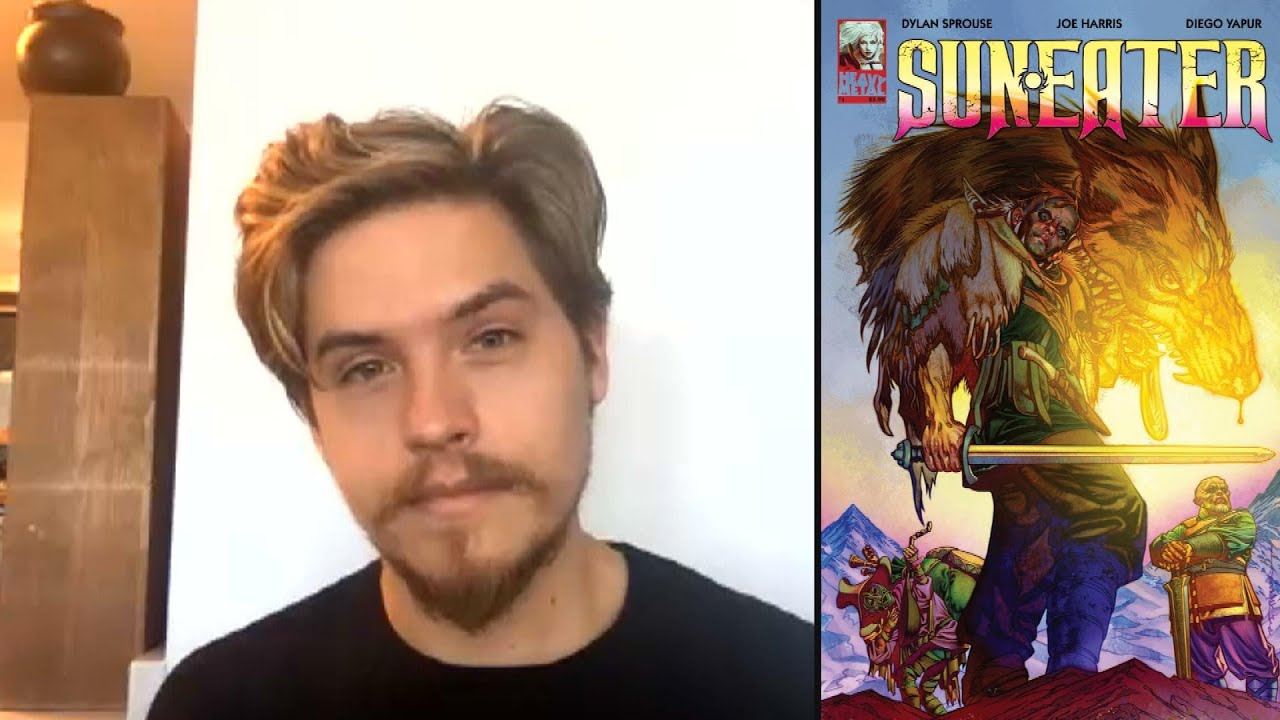 Dylan Sprouse OPENS UP About How His Dark Comic Book 'Sun Eater' Was Inspired By His Childhood