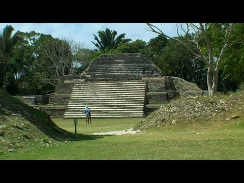 Altun Ha in 3D ancient Mayan settlement in Belize