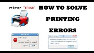 How to Solve Printer Problems (Toner Problem, error Problem and not Taking Commands) easily (2017)