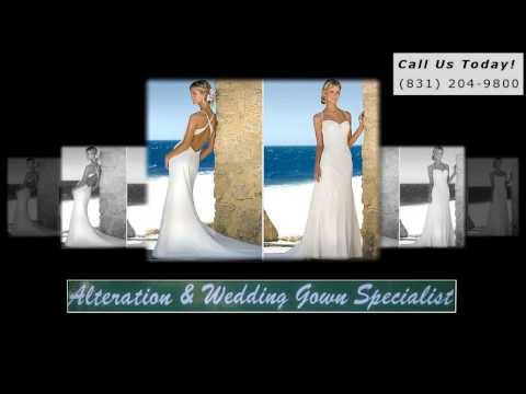 Pacific Grove Alterations|831-204-9800|Alterations Pacific Grove CA|Wedding Gown|Dress|Bridal|93950